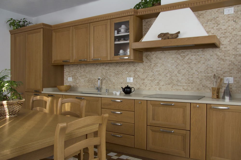 Pin Cucina In Rovere On Pinterest