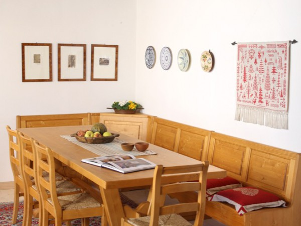 Wood tables and chairs in modern style, perfect for kitchens and ...