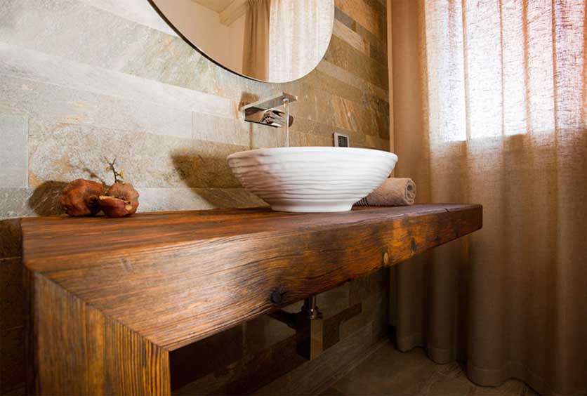 Bathrooms furniture for modern and country style
